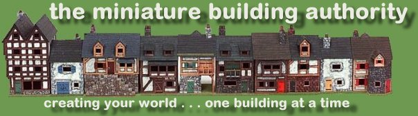 Miniature Building Authority:  creating your world...one building at a time