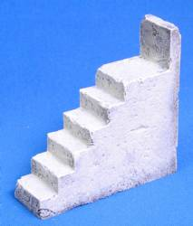 Stairs for Middle Eastern Buildings-Painted