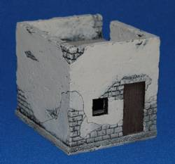 Small Middle Eastern Building II - Painted
