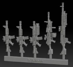 US Army Weapon Sprue