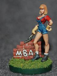 Figure - MBA Bricklayer Girl