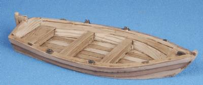 Small Wooden Boat (painted)