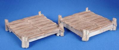 Medium Wooden Platforms (2)(painted)