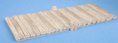Low wooden Jetty (painted)