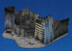 Ruined Shanty PAINTED
