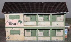 Two Story Shanty Hotel PAINTED